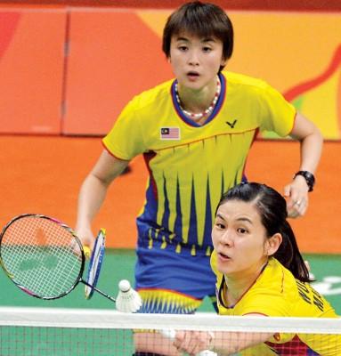 温可微/许嘉雯时隔半年再次打进国际赛4强。