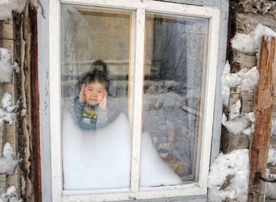 即使留在家里不上学,也冷死人啊!