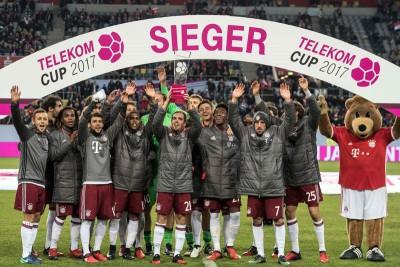 拜仁慕尼黑刚于上周六赢得电讯杯。