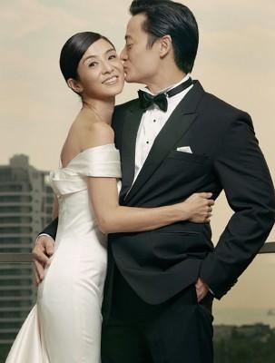 杨采妮和邱韶智结婚3年,终于报喜怀孕5个月。