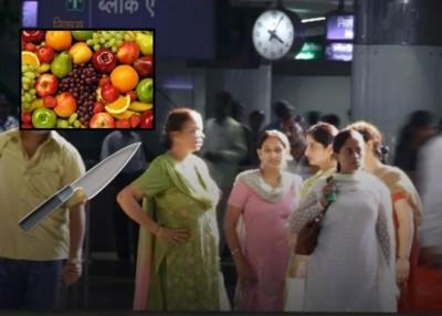 德里地铁澄清,批准女乘客带刀坐车,切莫是为他们自卫。