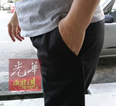 陈女士负以钱放在前口袋也受到扒走。