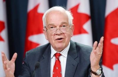 麦加廉将出使中国,加强加中关系。