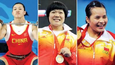鉴于没有能够通过兴奋剂再次检测,每当北京市奥运会夺标的华夏3各项女性斗士,曹磊(左起)、陈燮霞以及刘春红都为国际奥委会收回。