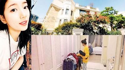 秀智豪宅位于首尔高级地段江南区。秀智豪宅内景曝光。