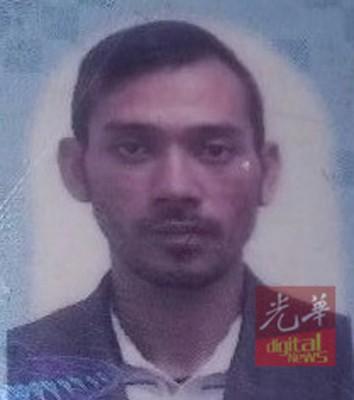 警方正通缉的涉案嫌犯莫哈末法西米尔。
