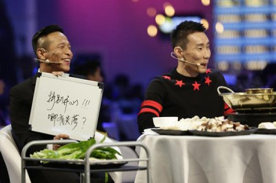 李宗伟达成中国节目摆美食经历。