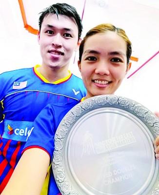 陈健铭/赖沛君代表,夺冠很奇怪。