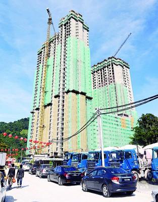 Ramah Pavilion工程预计可在明年农历新年前竣工。