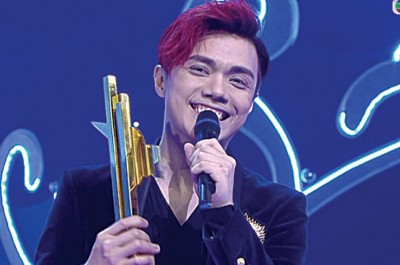 张敬轩连续3年获得最受欢迎男歌星奖。