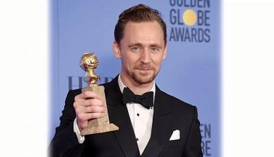汤姆希德斯顿成功凭《夜班经理》首登电视电影或迷你影集视帝。