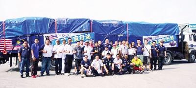 瓜拉姆拉县志工团、老大圣约翰、峇甲亚兰义消队和巴东伦武义消队将好撒到一起艾。