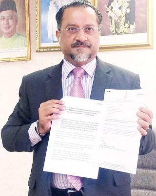 佳日星:槟州秘书将于近日内寻求槟州首长林冠英及槟州议会反对党查哈拉在房屋课题的联合动议上签名 ,并将之提呈给中央政府及国家银行。