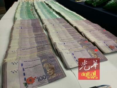 警方在涉案警员住家搜获70克大麻。