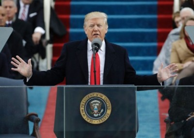 特朗普发表的演说惊喜地方不多。