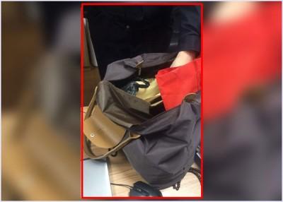 妇人在屋苑的垃圾桶拾获装有逾20万元人民币现金的手袋,立即报警。