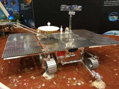 中国国产火星车模型。
