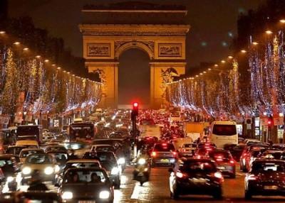 法国交通严重受阻。
