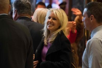克劳莉宣布退出特朗普政府。(法新社照片)