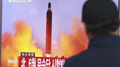 朝鲜扬言可以随时随地试射洲际弹道导弹。