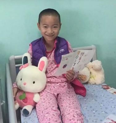李思佳上月被确诊患上恶性髓母细胞瘤。