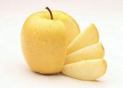 金冠苹果切开不变色。