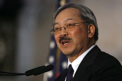 三藩市华裔市长李孟贤获全美最高薪。
