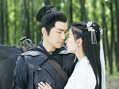 Baby和钟汉良拍摄中国剧《孤芳不自赏》,被质疑拍摄时用特技效果。