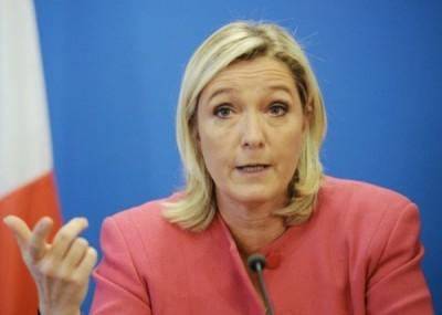 玛琳勒庞要胜选,也许仿效特朗普外交方针。