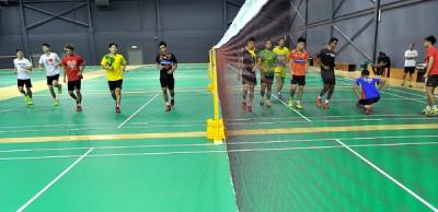 大马羽球队周二开始备战新一轮的赛事。
