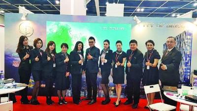 益安的香港团队在香港会议展览中心销售City of Dreams 梦想之城房屋计划。