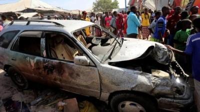 索马里首都摩加迪无周日中汽车炸弹袭击。