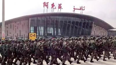 阿苏克是新疆武警重点锤炼边疆反恐作战能力的地域有。
