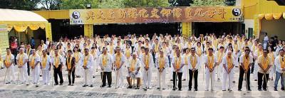200位大德齐献力,北海斗母宫九皇信仰文化楼动土了。