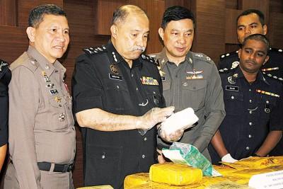 莫达:马泰警方肃毒组保持密切的合作关系,向毒品宣战到底。