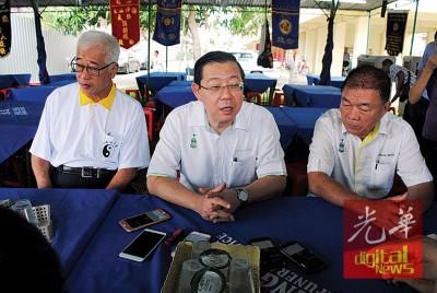 槟州首长林冠英对东姑安南穷追不舍,再次发挑战书要东姑安南辩论。