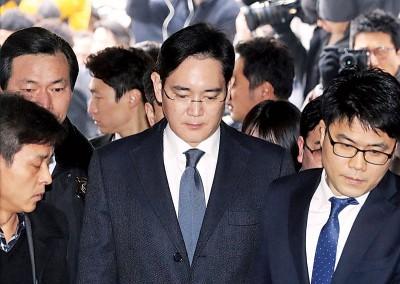 独自检查组要求法院发出李在镕逮捕令。(法新社照片)