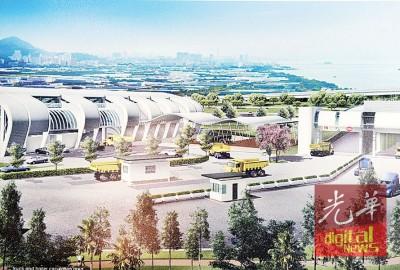 在完成兴建后,峇都茅固体废料转运站最高将能处理800吨的垃圾。