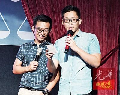 槟民政党喜见新血涌现,两名年轻司仪谈吐得体、中文和国语均非常流利,叫人惊喜。