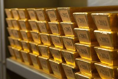 藏在纽约地下金库的黄金,现已被运回德国。