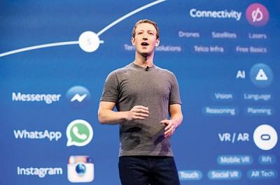 扎克伯格强调脸书的长期愿景。