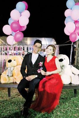 熊玲与蔡先生一同居住吉隆坡,向来都很甜蜜。