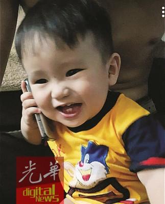 3岁的男童死者为奥尼丁,此为其年幼时照片。