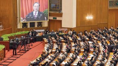 中国全国政协会议周五在北京揭幕,由主席俞正声发表工作报告。