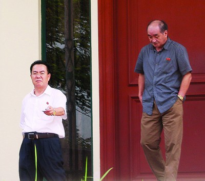 金洙墉不愿向媒体发表任何言论。