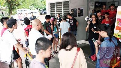 李宗伟传记电影《败者为王》以槟城为召募首站,具有特别意义,共吸引逾300人前来试镜争演逾60个角色。