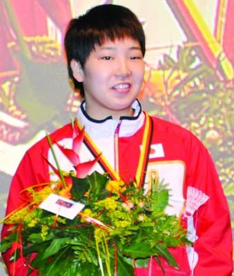 山口茜无须费力,就收获女单冠军。