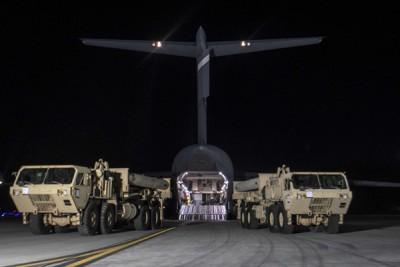 美军开始在韩国部署萨德,引起中国强烈不满。