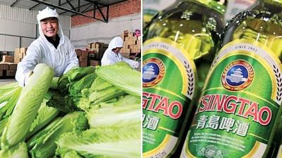 倍受韩民间骂战升级,中国网民呼吁当局拒卖大白菜予韩国,韩国网民则要民众罢买青岛啤酒。