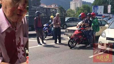 涉嫌在日前殴打一名华裔老翁的2名嫌犯已被警方逮捕。